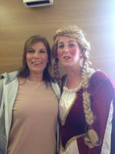 Linda Moore and Joanne Carroll.