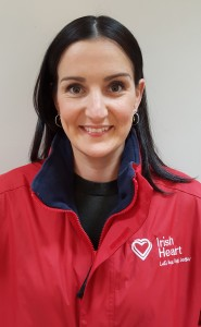 Proud of her work: Tracy Power, Regional Fundraising Manager of Irish Heart (www.irishheart.ie).
