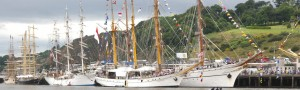 The cost of hosting the Tall Ships Race in 2011 came to €4.9m, according to Waterford City & County Council.