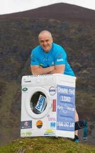 Enda O'Doherty will attempt to scale Mount Kilimanjaro complete with his 40kg washing machine, to raise funds for Pieta House.