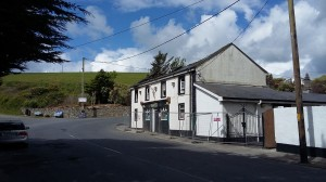 Hayes's Pub in Bonmahon, which was badly damaged by fire on Thursday last.