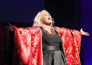Greta Rochford delivered a rib-tickling 'Diva's Lament'.