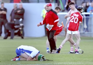A thousand words, eh? The contrasting emotions at full-time at Walsh Park on Thursday last.