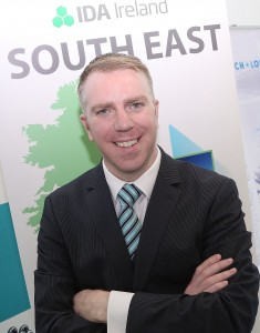 Brendan McDonald, the IDA's new regional manager for the South East