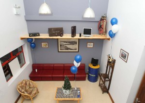 The reception area at the Deise Men's Shed.