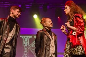 Karl Kirby (Bulsara), Lucy Byrne (Kashoggi) and Jessica Reinl