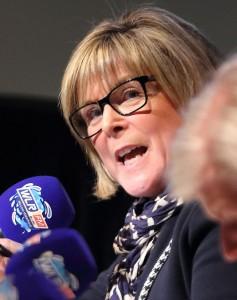 Ready: Sitting Fianna Fáil TD Mary Butler.