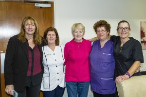 Pictured at the Holy Ghost Home are Bridget Roche (Manager), Ann MArie Friend, Theresa Wallace, Vera Murphy and Maria Grogan.