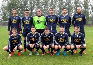 The Waterford Crystal team that were much too strong for Brideview in the second round of the Munster Junior Cup.