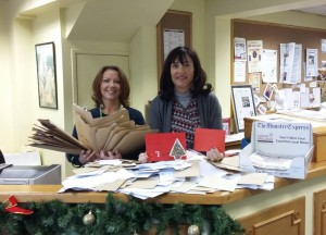 We had an incredible reaction to all our fantastic competitions in this year's Christmas Supplement! Winners of competitions are currently being notified. Pictured are Niamh O'Rorke and Annette Barry busily sifting through the huge amount of entries we've received.