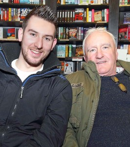 Pictured at the launch were Paudie Hunt and Gerry Kirwan.