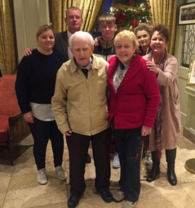 Margaret meets her biological family. Included are her father Thomas Walsh, brother Paul Thomas Walsh, sister Margaret Jarmyn, nieces Lyndsay Groushko and Molly-Ann Walsh and nephew Mark Anthony Walsh.