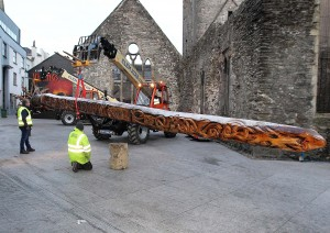 The sword arrives at Baileys New Street. See this week's print edition for more