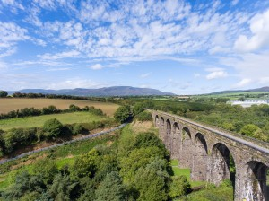 the Kilmacthomas viaduct which forms part of the Waterford Greenway