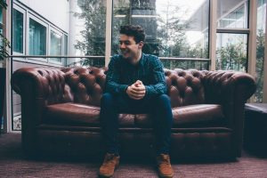 Michael O'Dwyer is enjoying life on the road with Celtic Thunder