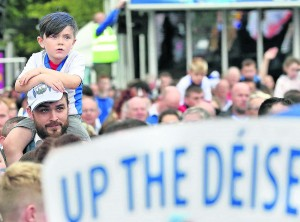 The atmosphere on The Quay that night prompted many to query what the arrival home will be like when the Deise finally end their wait for the Liam MacCarthy Cup!