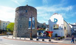Reginald's Tower and the replica Viking longboat are central to Waterford's Viking offering.