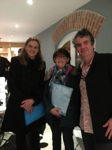 Marie Cleary (Kill Action & Alert Group), Angela Mulcahy (Kill Community Centre) and Sean Corcoran (The Art Hand).