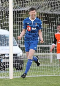 Caption: Waterford FC's Dean Walsh is looking forward to the professional era with Waterford FC.