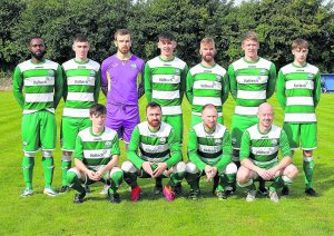 Ferrybank remain in the hunt for the Premier League title following their 4-0 win over Waterford Crystal.