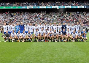 The Waterford senior hurling squad on All-Ireland Day.  The cost of Senior Hurling Team for 2017 was €602,897