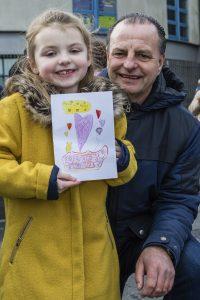 Eva and Martin Howlett at the 'Have a Heart' march.