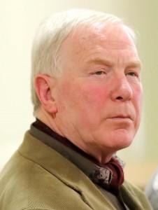 Concerned: Councillor Joe Conway.