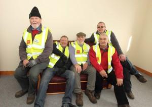 Noel Shanaghy, Jim St Ledger, Liam Harding, John Walsh and Mick Doyle. Photos: Noel Browne.