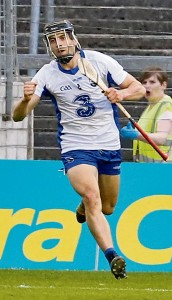 All-Star Jamie Barron wheels away following his goal in the first period of extra-time in Thurles.