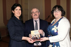 Pictured attending the launch of 'The Redmonds Of Waterford, A Political Dynasty 1891-1952', a book by Pat McCarthy which was held at The Large Room were organising committee members Bernadette Guest, Ger Crotty and Joanne Rothwell