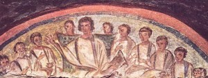 Does this mosaic of Christ in the Domitilla Catacombs in Rome really represent the closest image there is of the real-life Jesus?