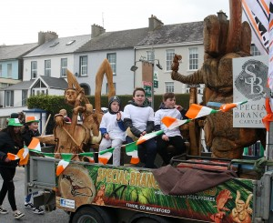 Special Branch Carvings, winner of Best Commercial Float, pictured in Railway Square.  | Photos: Jim O'Sullivan
