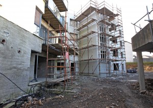 Scaffolding has been in place at Mount Suir for years.