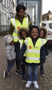 Egbu Rbnu and Family enjoying the St Patrick's Day Parade in Carrick-on-Suir.  | Photos: Joe Cashin