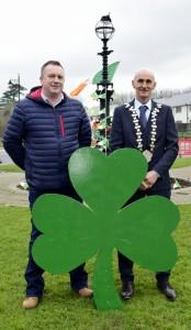 Cllr Declan Clune (SF) and Cllr Seanie Power (FG), the Cathaoirleach of the Comeragh District.