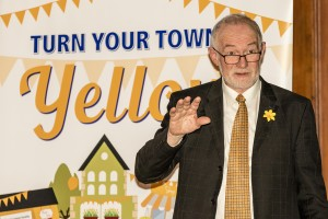 Chairperson of Waterford Daffodil Day Committee Des Daunt.