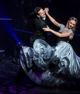 'All Night Long', starring and produced by Brendan Cole (pictured dancing with Faye Huddlestone), will play before packed Irish audiences at the end of the month, including a matinee and evening show at the Cork Opera House on March 27th.