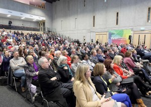 The WIT Arena hosted the Project Ireland 2040 launch on March 9th.   Photo: Noel Browne