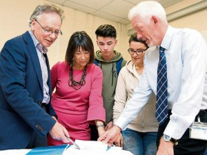 Consulting with staff and students on a new Strategy for WIT has been a core objective of President Willie Donnelly (left) and his colleague Richard Hayes (right) over the course of the current academic year.