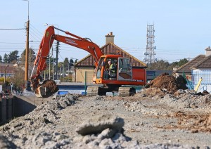 Local Councillors are seeking a meeting with GAA representatives to discuss the future of Walsh Park, where works are already underway. | Photo: Noel Browne