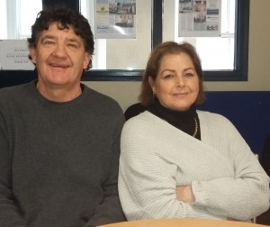 Ray Halligan (Chairperson if the Waterford IKA Branch) and Maria Ryan