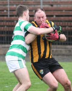 Ballinacourty kept a firm grip on the Brickeys throughout their meeting at Fraher Field.