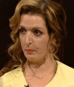 Vicky Phelan, pictured on The Ray D'Arcy Show on Saturday last. | Still: RTE