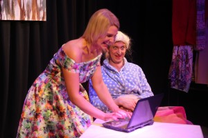 Denise Cheasty (Tinderbell) and Jack Walshe (Granny).