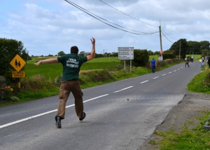 Road bowling in Fenor forms part of this year's Copper Coast Festival.