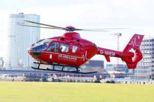 A helicopter air ambulance similar to the one that will be flying out of Cork Airport from August.