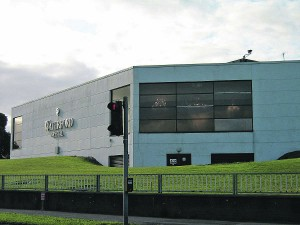 As once it was: the former Waterford Crystal Visitor Centre and showroom at Kilbarry