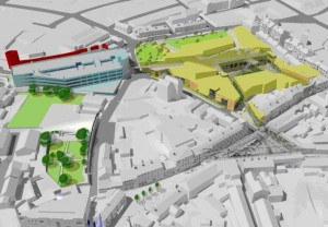 Delivery of the Michael Street development has been a key component of the city centre regeneration project for several years, according to Deputy Mayor John Cummins.