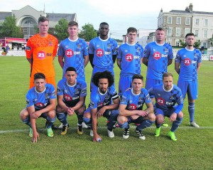 The Waterford FC team that took on Bray Wanderers at The Carlisle Grounds on Friday last