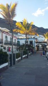 The pretty streets of Puerto de Mogán